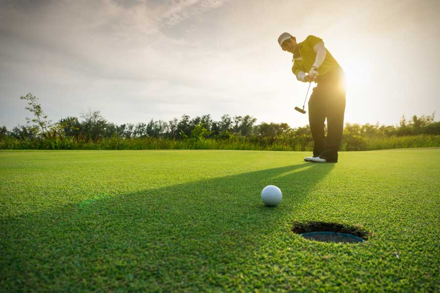 Chiropractic for Golf, improving your golf game.